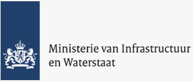 Logo Ministerie infrastructuur en waterstaat