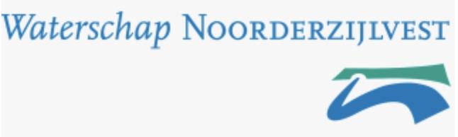 Logo Waterschap NoorderZijlvest
