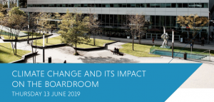 Summit: Climate Change and its impact on the boardroom (13 juni, Houthoff Amsterdam)